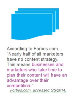 Forbes on Content Marketing