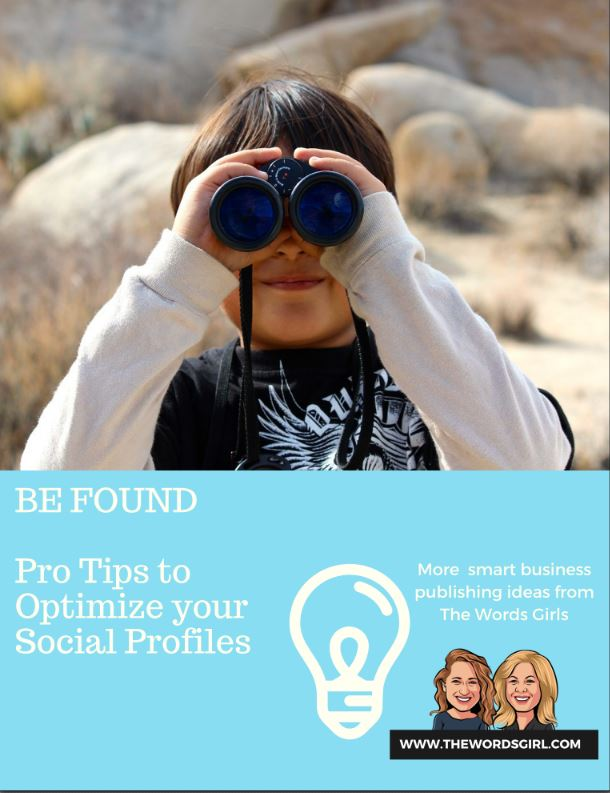 Pro tips on optimizing your social profiles